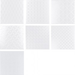 BLACK&WHITE Decor Blanco 20X20 (1bal1m2)