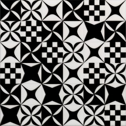 BLACK&WHITE Mosaico Mix 20X20 (1bal1m2)