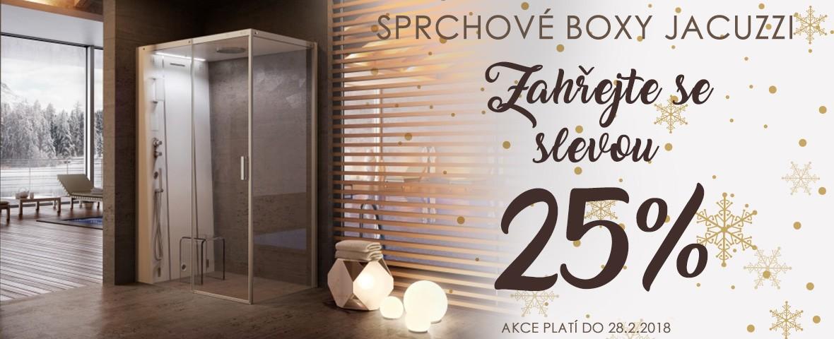 AKCE sprchové boxy leden-únor 2018